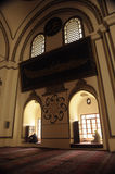 mosque_Bursa van Ulu Royalty-vrije Stock Foto