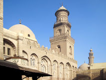 Mosque in Cairo. Royalty Free Stock Image