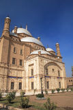 Mosque in Cairo. The Mosque of Muhammad Ali in the Citadel of Saladin in Old Cairo, Egypt Stock Image