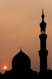 Mosque in the Cairo Stock Photography