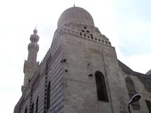 Mosque in Cairo, Egypt Africa. Old Mosque stock photography