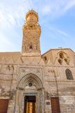 Mosque in Cairo, Egypt. View at the Old mosque in Cairo, Egypt royalty free stock image