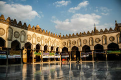 Mosque in Cairo. Religious inside the mosque in Cairo, Egypt Stock Photography