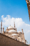Mosque in Cairo. Religious inside the mosque in Cairo, Egypt Stock Photo