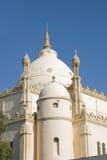 Mosque in Carthago, Tunisia. An islamic mosque on the hills of Carthago, Tunisia Royalty Free Stock Photos