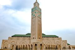 Mosque Casablanca, King Hassan II Mosque, Casablanca, Morocco Royalty Free Stock Photography