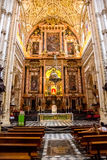 Mosque / Cathedral of Córdoba, The altar Royalty Free Stock Image