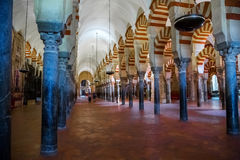 Mosque / Cathedral of Córdoba touristic atraction Stock Photo
