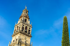 Mosque Cathedral of Cordoba in Andalusia, Spain Royalty Free Stock Photography