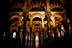 Mosque-Cathedral of Cordoba Stock Photography