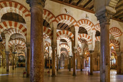 Mosque Cathedral of Cordoba, Spain Royalty Free Stock Images