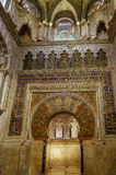 Mosque Cathedral of Cordoba, Spain. Mosque Cathedral of Cordoba also known as the Great Mosque of Cordoba  is regarded as one of the most accomplished monuments Stock Images