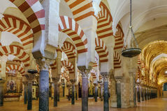 Mosque Cathedral of Cordoba, Spain. Mosque Cathedral of Cordoba also known as the Great Mosque of Cordoba  is regarded as one of the most accomplished monuments Stock Image