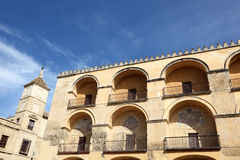 Mosque cathedral in Cordoba, Spain. Exterior of the mosque cathedral in Cordoba, Andalusia Spain Stock Photos