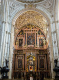 Mosque-Cathedral of Cordoba in Spain Royalty Free Stock Photos