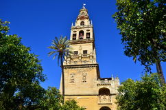 Mosque cathedral,Cordoba,Spain. Mezquita (Mosque)/Cathedral bell tower, Cordoba, Cordoba Province, Andalusia, Spain, Western Europe Stock Images
