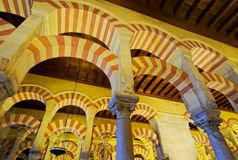 Mosque-Cathedral in Cordoba, Spain Stock Photography