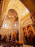 Mosque-Cathedral in Cordoba, Spain Royalty Free Stock Image