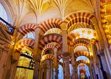 Mosque-Cathedral in Cordoba, Spain Royalty Free Stock Images