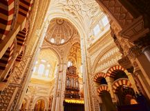 Mosque-Cathedral in Cordoba, Spain Royalty Free Stock Photos