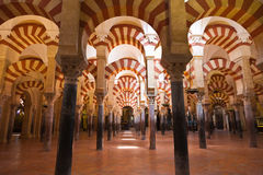 Mosque-cathedral of Cordoba, Spain Royalty Free Stock Photo