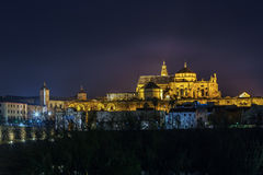Mosque Cathedral of Cordoba, Spain Royalty Free Stock Photos