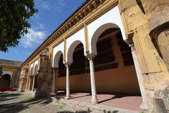 Mosque cathedral patio in Cordoba Royalty Free Stock Photos