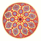Mosque ceiling art Royalty Free Stock Photos