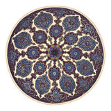 Mosque ceiling art Royalty Free Stock Image