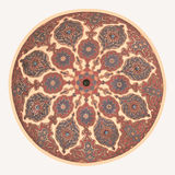 Mosque ceiling art Royalty Free Stock Photo