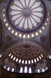 Mosque ceiling ornament Stock Photography