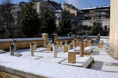 Mosque Cemetery - Kastamonu - Turkey Stock Photography