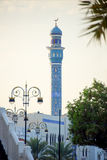 Mosque in center of Muscat stock image