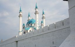 The mosque in centre of Russia Stock Photos