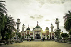 Mosque centre Stock Photography