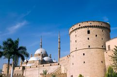 Mosque and Citadel Royalty Free Stock Images