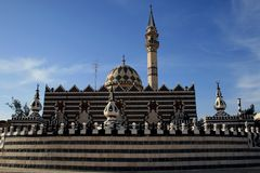 Mosque in the city of Amman Royalty Free Stock Photography