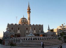Mosque in the city of Amman. In Jordan Royalty Free Stock Image