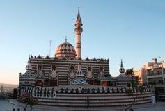 Mosque in the city of Amman. In Jordan stock photo