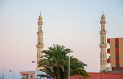 Mosque in the city center of Hurghada Stock Photography