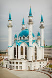 The mosque  in the city of Kazan. The mosque Qol Sharif in the city of Kazan Royalty Free Stock Photography