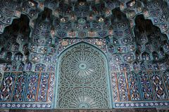 Mosque colors in Russia Royalty Free Stock Photos