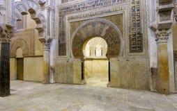 Mosque of Cordoba Stock Photos