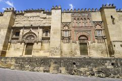 Mosque of Cordoba Royalty Free Stock Photography