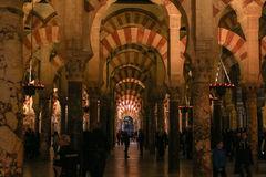 Mosque in Cordoba Royalty Free Stock Images