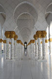 Mosque corridor Royalty Free Stock Images