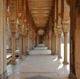 Mosque corridor in Morocco Royalty Free Stock Photos
