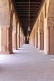 Mosque corridors. Corridors of Ibn Tulun Mosque in Cairo Stock Photo