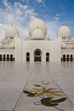 The mosque courtyard Stock Photography