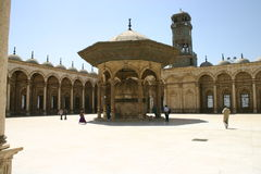 Mosque Courtyard Stock Images